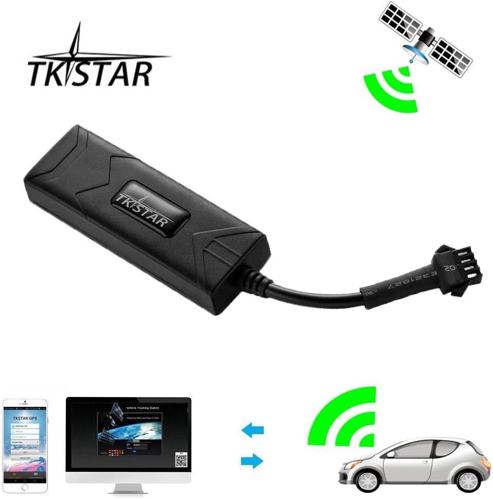 GPS Tracker, TKSTAR Auto Camión Vehículo Tiempo real GPS tracker gps antirrobo Localización Mini GSM GPRS SIM GPS Navegación GPS Location Outdoor con aplicación: Amazon.es: Electrónica