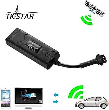 GPS Tracker, TKSTAR Auto Camión Vehículo Tiempo real GPS tracker ...