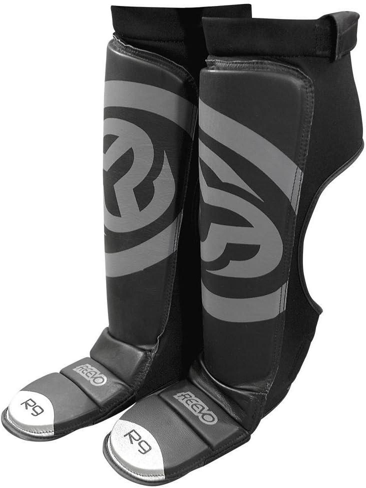Reevo R9 V2 葉っぱ すね&足踏み板 ボクシング キックボクシング ムエタイ 総合格闘技  L-XL