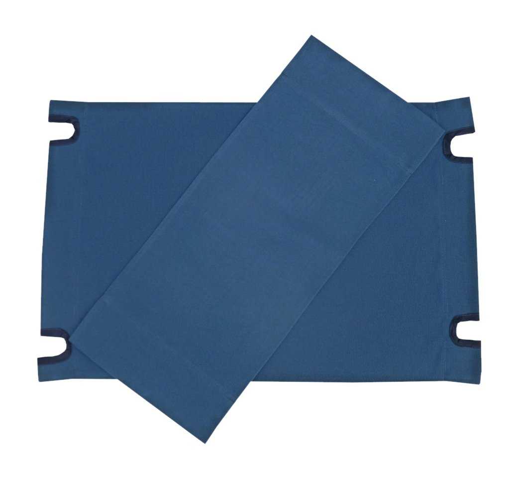Zew Replacement UV Treated Color Durable Canvas for Bamboo Folding Directors Chairs, Royal Navy by Zew