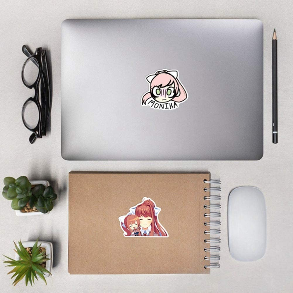 Castlevania 50 Pcs Waterproof Stickers for Laptop Luggage Car Skateboard Suitcase Case and More Elibeauty Japanese Anime PVC Stickers Set