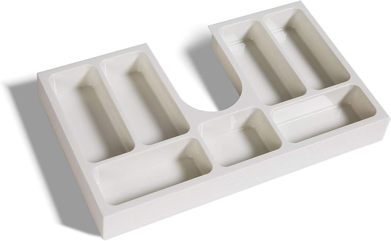 Schubladeneinsatz Kosmetikeinsatz f/ür Badm/öbel ab 70 cm Schrankbreite