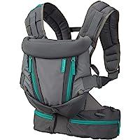 Infantino Carry On Multi-Pocket bärsele – ergonomisk bärsele med 3 bärpositioner – för spädbarn och småbarn från 3,6–18…