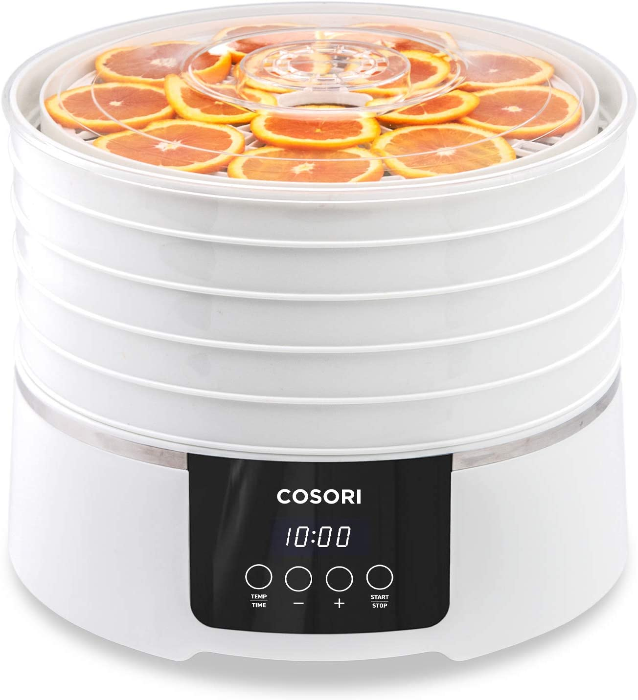 COSORI Food Dehydrator Machine 50 Recipes with Digital Timer and Temperature Control, 5 BPA-Free Trays Food Dryer for Beef Jerky,Fruit,Dog Treats,Herbs,2-Year Warranty,ETL Listed FDA Compliant
