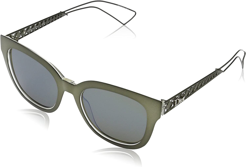 Dior DIORAMA1 3U Y0V Gafas de sol, Verde Crysta/Khaki Grey Speckled Blue, 52 para Mujer