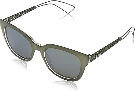 Dior DIORAMA1 3U Y0V Gafas de sol, Verde (Khaki Crysta/Khaki Grey Speckled Blue), 52 para Mujer