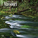 Missouri, Wild & Scenic 2018 12 x 12 Inch Monthly Square Wall Calendar, USA United States of America Midwest State Nature (Multilingual Edition)