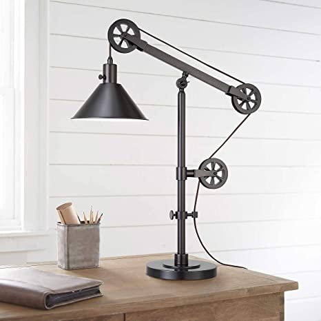 Bridgeport Designs Pulley Table Lamp Amazon Com