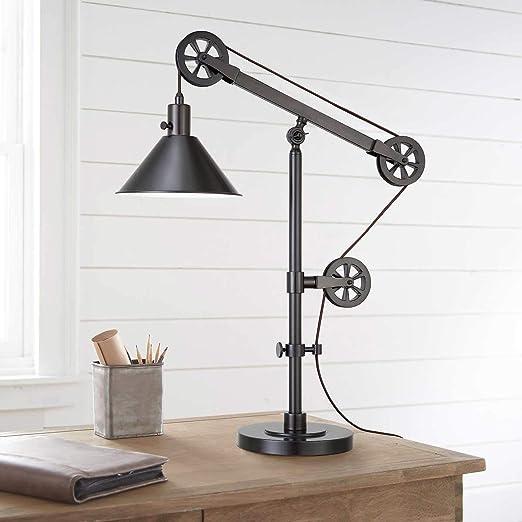 Amazon.com: Bridgeport Designs - Lámpara de mesa, diseño de ...