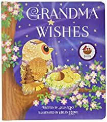 Did you know there's a special wishing star that only grandmas see? Every time a new grandchild is expected, their grandma has special hopes and dreams for her new little love. A perfect gift for a grandma shower, or a wonderful keepsake for ...