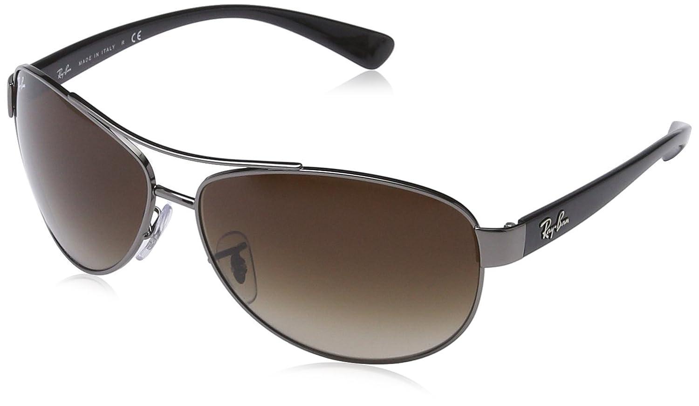RAY-BAN Rb3386 Gafas de sol, Gunmetal, 63 para Hombre