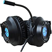 Headset Gamer Led Cabo 3m Microfone Ultrabass Regulavel 9800