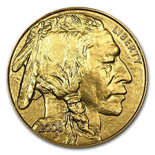 2008 1 oz Gold Buffalo BU 1 OZ Brilliant Uncirculated