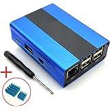 Corkea Raspberry Pi 3, 2 and B+ Case (Blau)