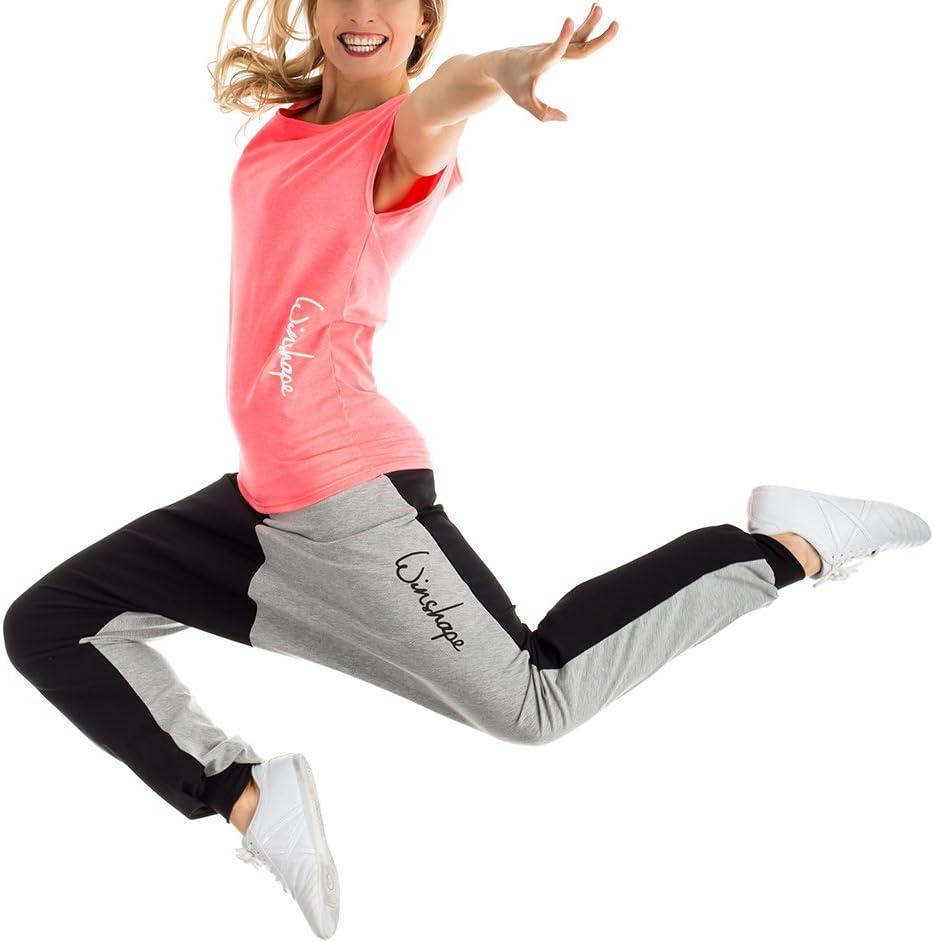 WINSHAPE Damen Dance Wtr12 Freizeit Fitness Workout T-shirt