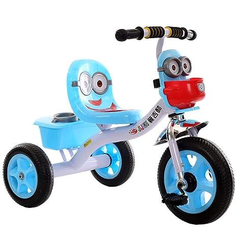 Zhijie-chezi Triciclo para niños de Dibujos Animados ...