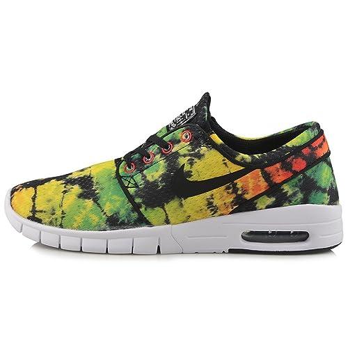 Nike Stefan Janoski Max PRM Tour Yellow Black Green