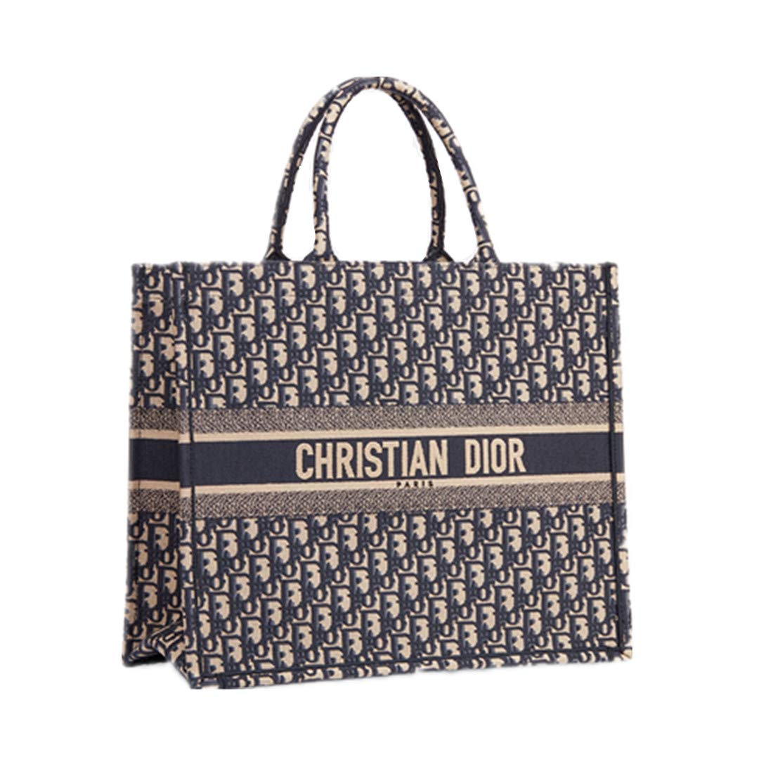 180ceb268 Amazon.com: Women's Shopping Bags DIOR Book Tote Bag In Canvas Embroidered  Oblique Bag (3): Shoes