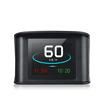 HUD GPS Smart Digital LCD Meter 9V a 16V Driving Speed Voltage Single Distance Driving Distancia total Tiempo de conducción Velocidad de conducción ...