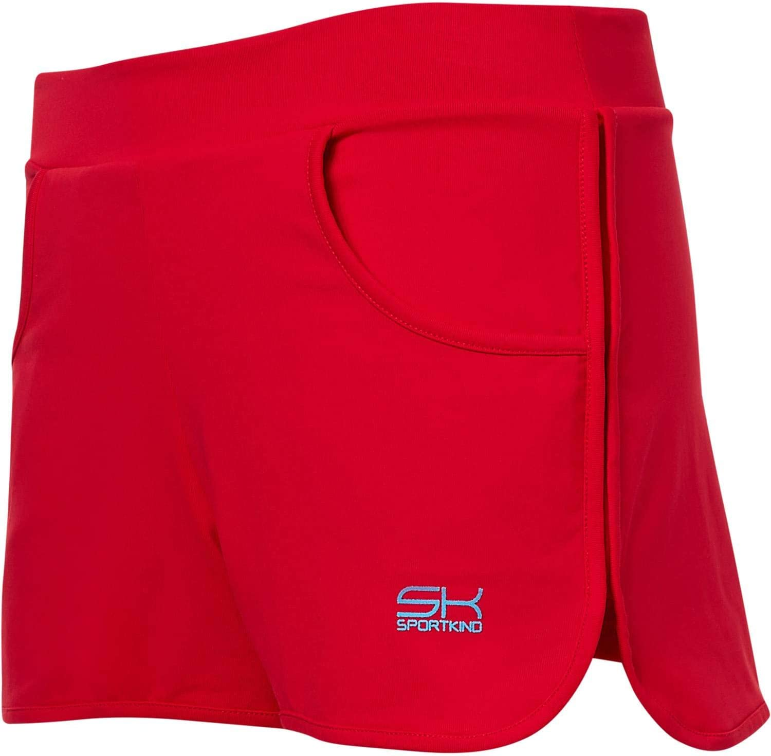 SPORTKIND Girls /& Ladies 2-in-1 Tennis//Volleyball//Sports Shorts with Integrated Shortie