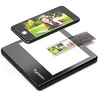 Escáner de Diapositivas portátil ultradelgado Rybozen 5 x 4 Pulgadas Panel de luz LED Diapositivas de Fotos negativas y…