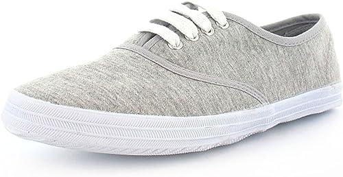 Canvas Pumps/Plimsolls/Shoes - Grey