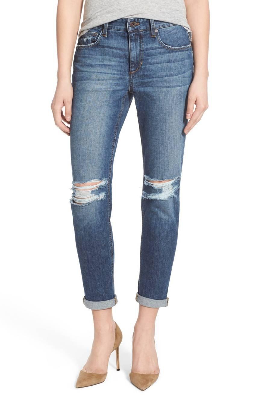 Joe's Jeans Women's Billie Crop Slim Boyfriend Jeans (24 x One Size, Coppola)