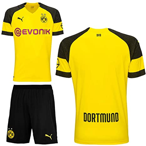 Puma BVB Borussia Dortmund 2018 2019 - Set da Calcio per Bambini ...