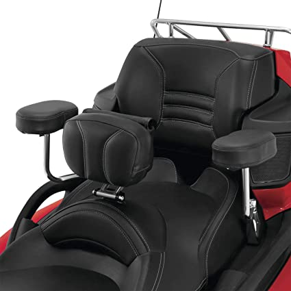 2-477 Show Chrome Accessories Black Passenger Armrests