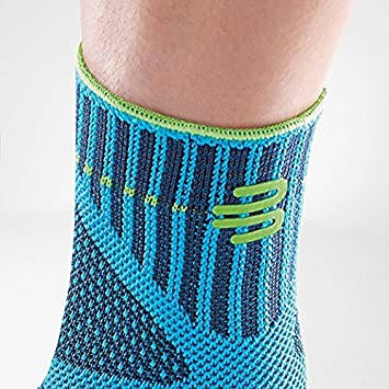 3D AirKnit Fabric for Breathability Bauerfeind Sports Ankle Support Dynamic Ankle Compression Sleeve for Freedom of Movement Premium Quality /& Washable