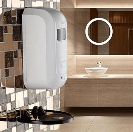 Dispensador de jabón líquido guardar con de baño montado en la pared – Sensor automático dispensador