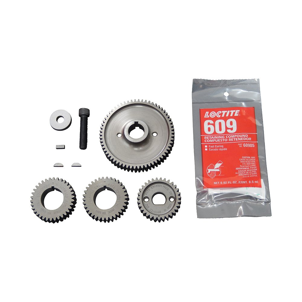 S&S 33-4275 Cam Gear Kit for Harley Davidson 99-06 Twin Cam (except 06 Dyna Glide) by S&S Cycle