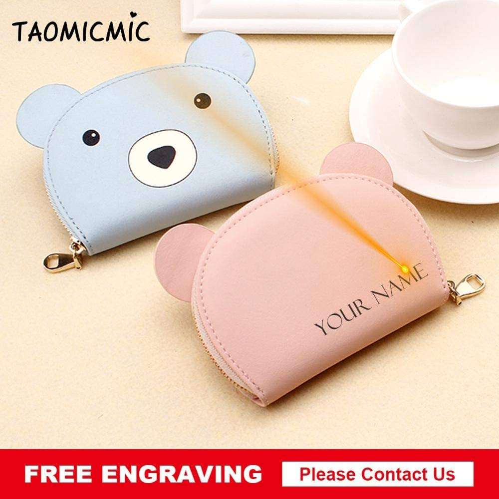 PU Leather Women Card Holder Wallets Female Credit Card Holders Fashion Lady Card Holder Purse Gimax Card /& ID Holders Color: Yellow