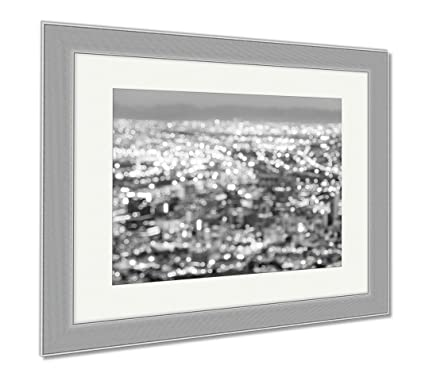 Amazon.com: Ashley Framed Prints Bokeh Of Cape Town Skyline From ...