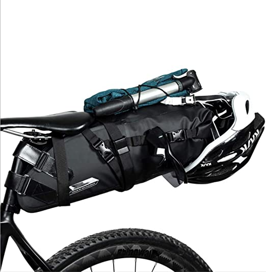 Sillín de Bicicleta Bolsa de Cola Asiento Impermeable Carretera de ...