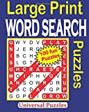 1: Large Print WORD SEARCH Puzzles: Volume 1