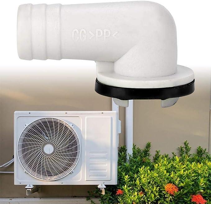 HGY Haga /ángel acondicionador de Aire de Drenaje de Salida de Adaptador de Manguera de Drenaje Herramienta de Aire Acondicionado de tuber/ías