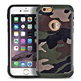 Best Verus Iphone 6 Case With Covers - iPhone 6 6s plus case,Liujie [Camo Series] Hybrid Review