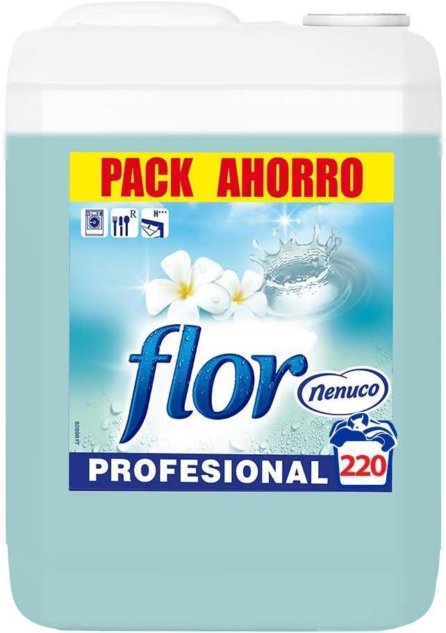 Flor - Suavizante para la ropa profesional, aroma nenuco - 220 dosis