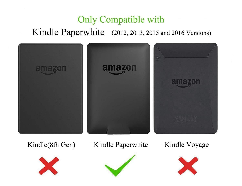 Ayotu Estuche de Colores para Kindle Paperwhite-Se Adapta a Todas Las Generaciones de Paperwhite anteriores a 2018 No se Ajusta a la 10/ª generaci/ón de Paperwhite K5-04 The Cat