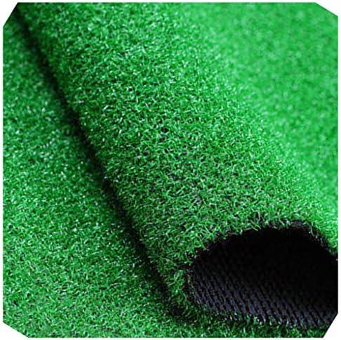 YNFNGXU シミュレーション芝生マット0.8センチ杭の高さグリーン偽ターフ屋外装飾人工プラスチック遊び場草カーペット (Size : 2x7m)