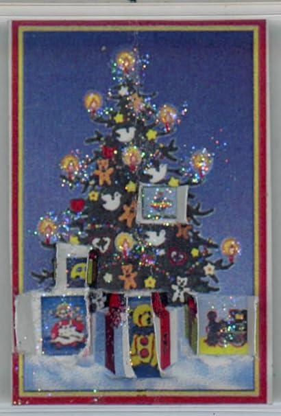 Christmas Dollhouse Miniatures.Amazon Com Jacqueline S Miniatures Dollhouse Miniature
