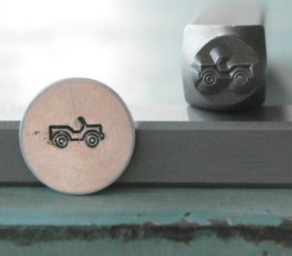 Brand New Supply Guy 6mm Military Jeep Metal Punch Design Stamp CH-48