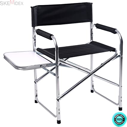 Astounding Amazon Com Skemidex Aluminum Folding Directors Chair Gmtry Best Dining Table And Chair Ideas Images Gmtryco