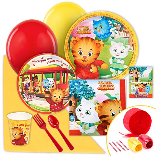 BirthdayExpress Daniel Tiger Party Supplies - Value Party Pack for $<!--$15.38-->