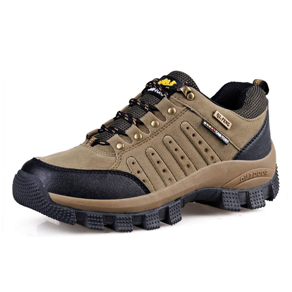 Acquista online Scarpe da Escursionismo Arrampicata all'aperto per l'ammortizzatore Scarpe da Passeggio per Uomo e Donna di Grandi dimensioni-Lightkhaki-37 miglior prezzo offerta