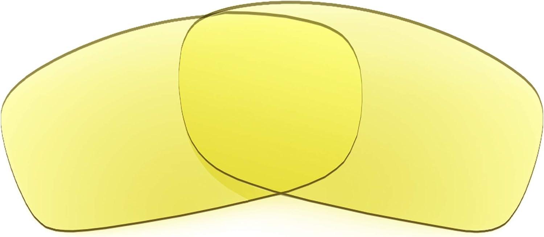 Revant Verres de Rechange pour Oakley Fives (2009) - Compatibles avec les Lunettes de Soleil Oakley Fives (2009) Jaune Traceur - Non Polarisés