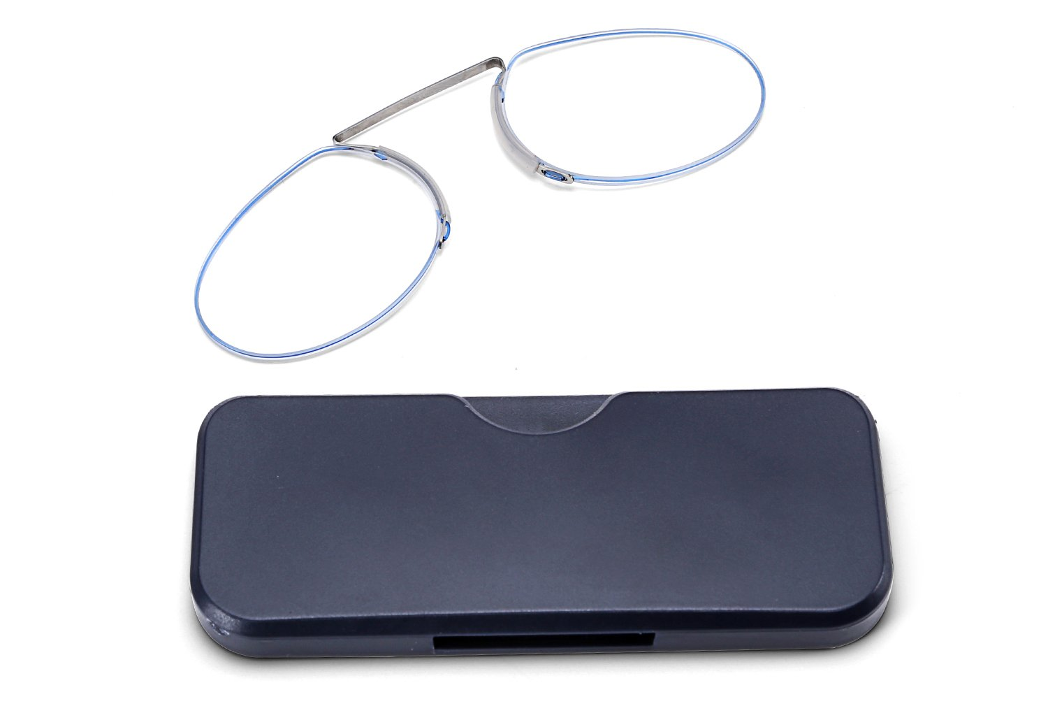 6622eda2ec76 Amazon.com  FEISEDY Reading Glasses Nose Resting Pinching No Temple Mini  Card Type for Men and Women B2439  Health   Personal Care