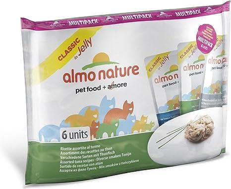 Almo nature HFC Jelly Tonno húmedo Gato – 6 Sobres