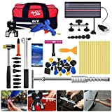 FLY5D® 65Pcs Auto Body Paintless Dent Removal Repair Tools Kits Silde Hammer Dent Lifter Glue Puller Sets with Tool Bag